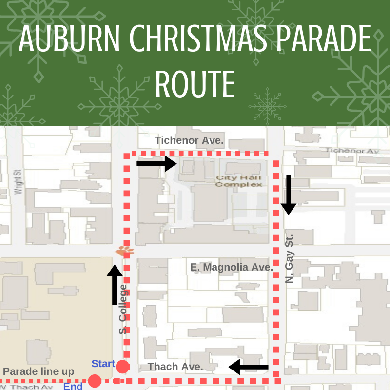 When The Christmas Parade In Auburn Al 2020 Downtown streets to close for Auburn Christmas Parade Dec. 8